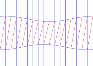Diagonal shift CP 1 300x212 Crease Pattern: Diagonal Shift