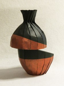 Diagonal shift variant 224x300 New work: Diagonal shift variant vase