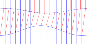 Diagonal shift variant 300x154 Crease patterns: Diagonal shift variants
