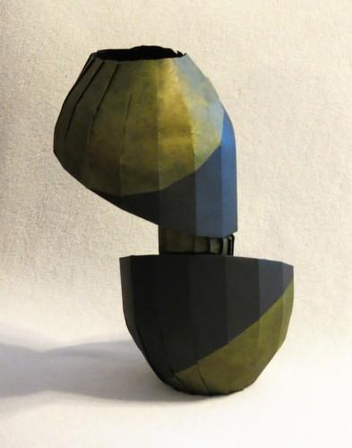 IMG 3899b 393x500 New Work: Rotated Diagonal Shift Vase