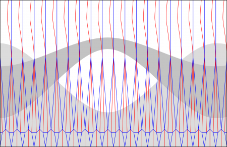 Crease pattern for purple vase
