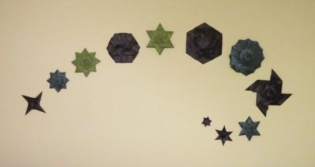 Wall origami