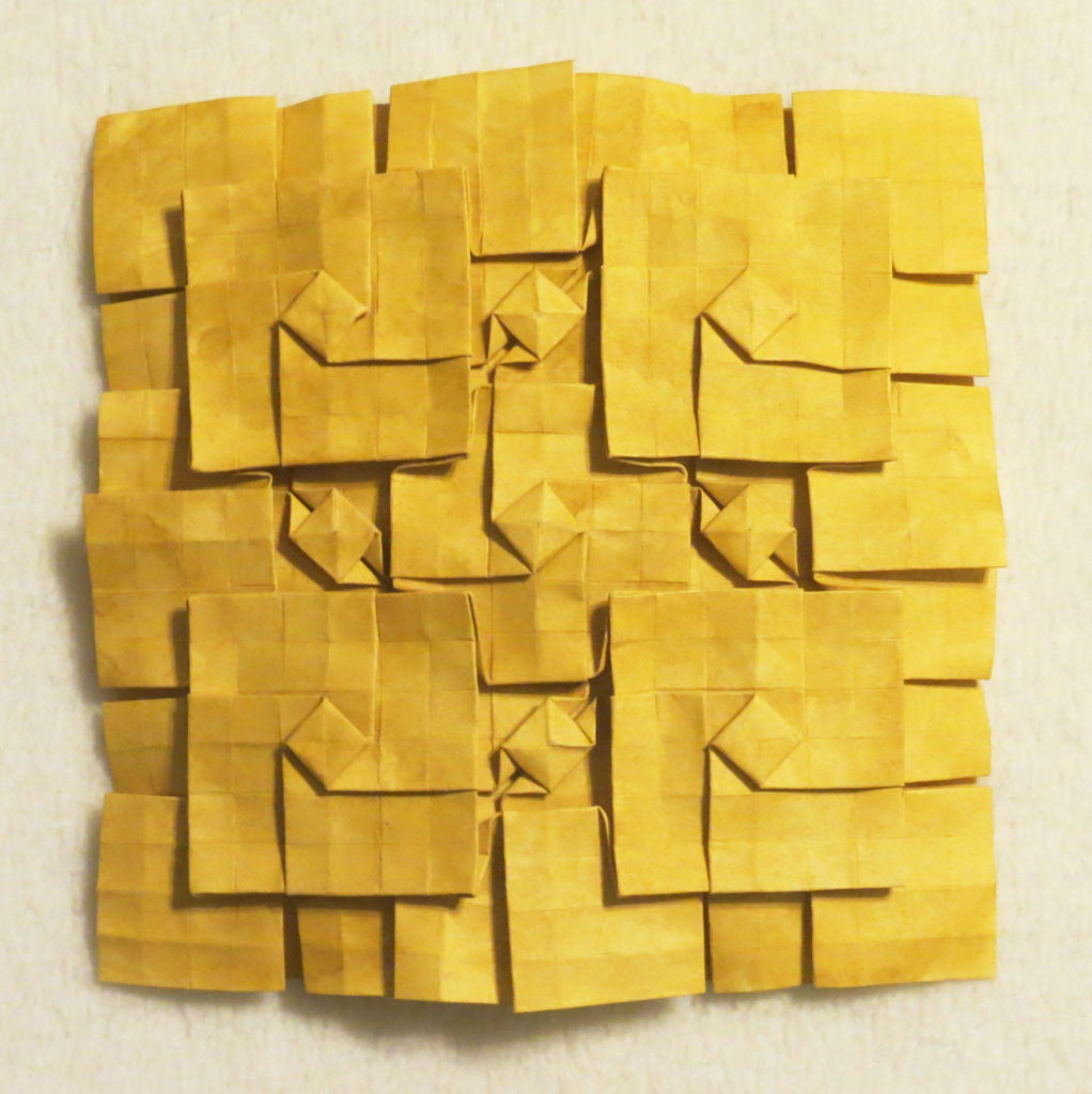 Layered squares, adapted from Christine Edison's Modern Blue